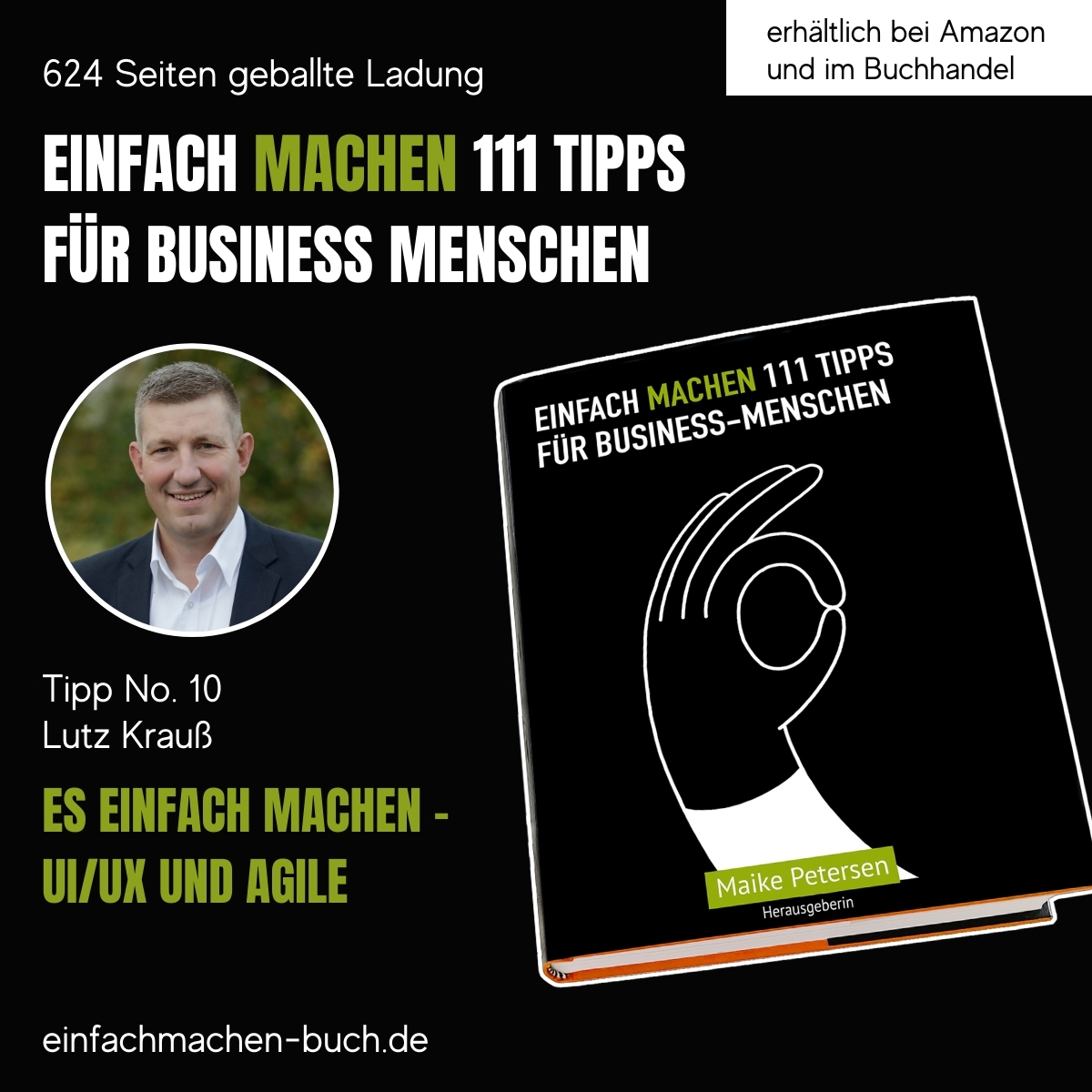 EINFACH MACHEN Tipp No. 10   Lutz Krauß - Es einfach machen – UI/UX und Agile