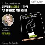 EINFACH MACHEN Tipp No. 6   Judit Costa - Vertrauen