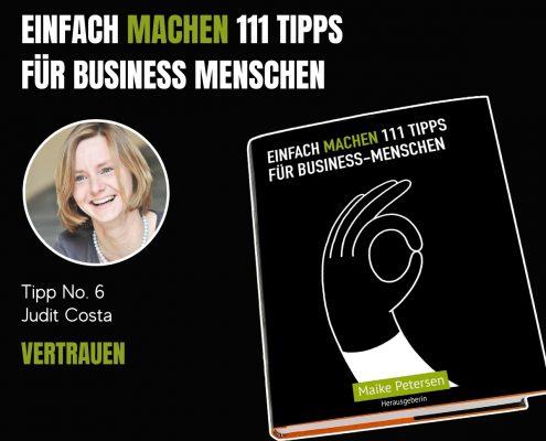 EINFACH MACHEN Tipp No. 6 | Judit Costa - Vertrauen