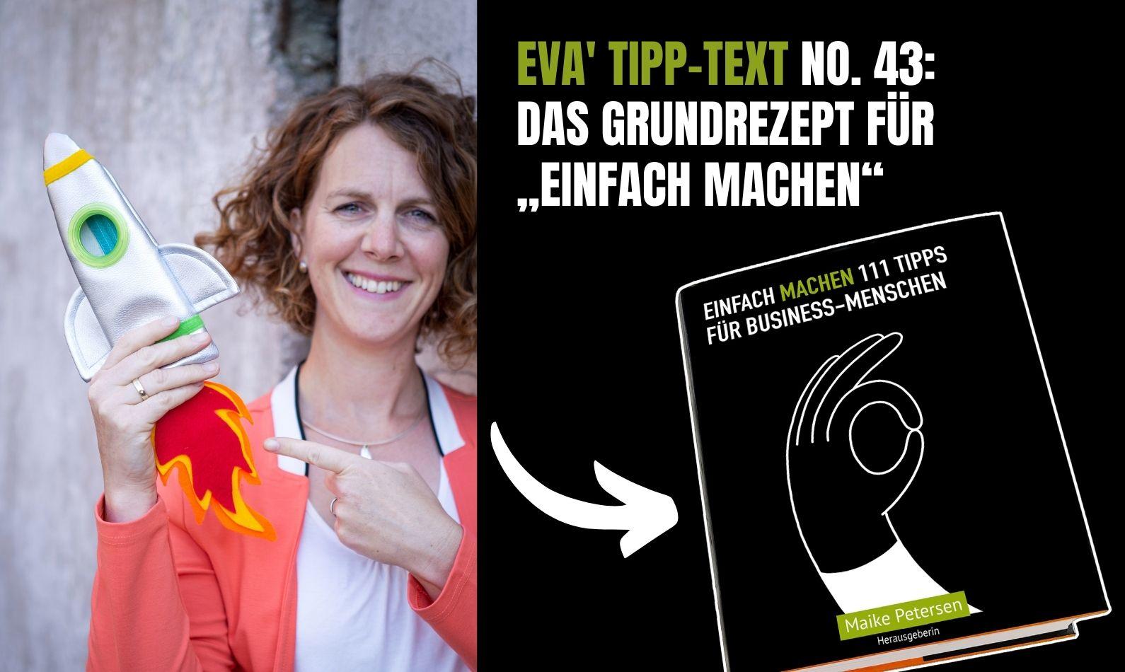EINFACH MACHEN Buch | Tipp-Text No. 43 von Eva list - jetzt downloaden